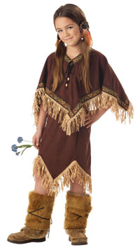 Flickor Princess Wildflower Indiska kostym - Native American Indian Costumes