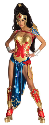 Sexiga Ami-comi Wonder Woman dräkt - Anime Costumes