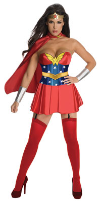 Sexiga Wonder Woman Vuxen dräkt - Wonder Woman Costumes