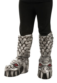 Vuxna KISS Gene Simmons De Demon skoskydd - KISS Costumes