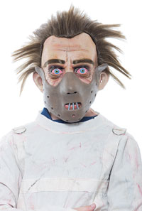 Barn Hannibal Lecter Mask - när lammen tystnar Accessories