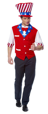 Uncle Sam dräkten - Patriotic Costumes