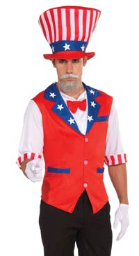 Uncle Sam patriotiska dräkten - Patriotic Costumes