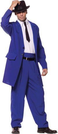 Deluxe Zoot Suit Costume - gangster Costumes