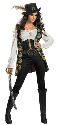 Deluxe Angelica Vuxen dräkt - Pirates of Caribbean Costumes 86eb0b3281640