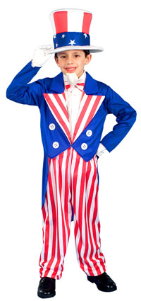 Uncle Sam ungar dräkten - Patriotic Costumes