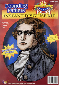 Jefferson eller Adams Costume Kit - historia Costumes