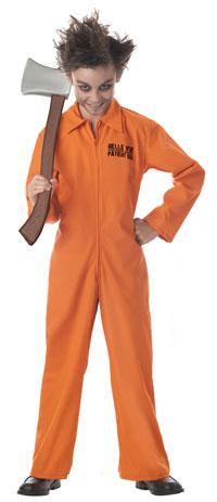halloween dräkt fånge