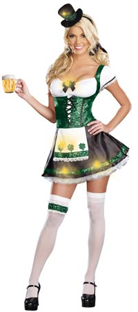 Lady Luck sexiga dräkt - St. Patrick's Day Costumes