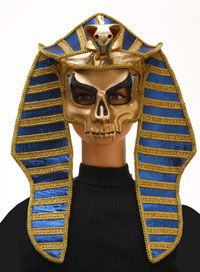 Deluxe Vuxen egyptisk mumie King Mask - egyptiska Costumes