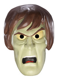 Krypväxel pålägg Latex Mask - Scooby-doo Costumes