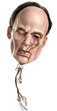 Vinyl Zombie besättning Mask - Pirates of Caribbean Costume Accessories