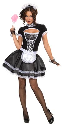 Suzette French Maid sexiga dräkt - French Maid maid Costumes