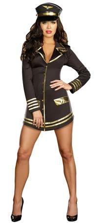 Mile High Pilot sexiga dräkt - sexiga Costumes e9a161fd06b16