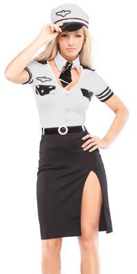 Pilot sexiga dräkt - Halloween Costumes 95108d04271b1