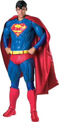 "Collector's Edition ""stålmannen"" -dräkten - Superman Costumes"