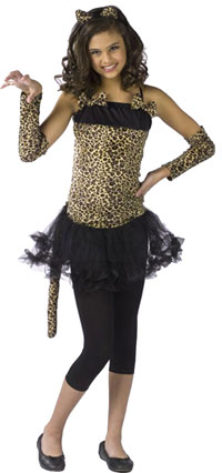 Teen Wild Cat Costume - Teen Costumes