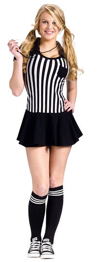 Rasande snabba Referee Teen dräkten - Teen Costumes