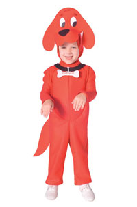 Clifford the Big Red Dog Costume - Kids Costumes