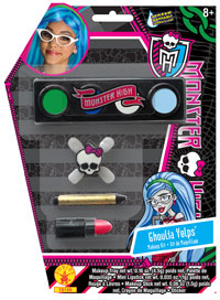 Yelps Ghoulia Makeup Kit - Monster hög Costumes