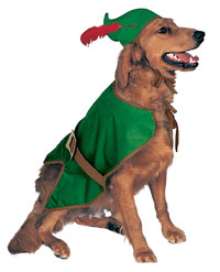 Christmas Elf/Robin Hood Dog Costume - Jul Costumes