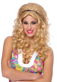 Blonda 60-Glam peruk - Costume Wigs