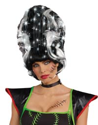 Frankie Monster brud Costume peruk - Costume Wigs