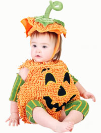 halloween kostym pumpa