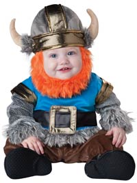 Lil' Viking Baby dräkt - Halloween Costumes