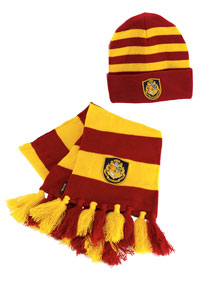 Harry Potter mössa och halsduk - Harry Potter Costume Accessories