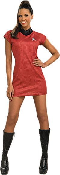 Deluxe Star Trek filmen röd klänning sexig dräkt - Star Trek trek Costumes c83e55d63a5a6